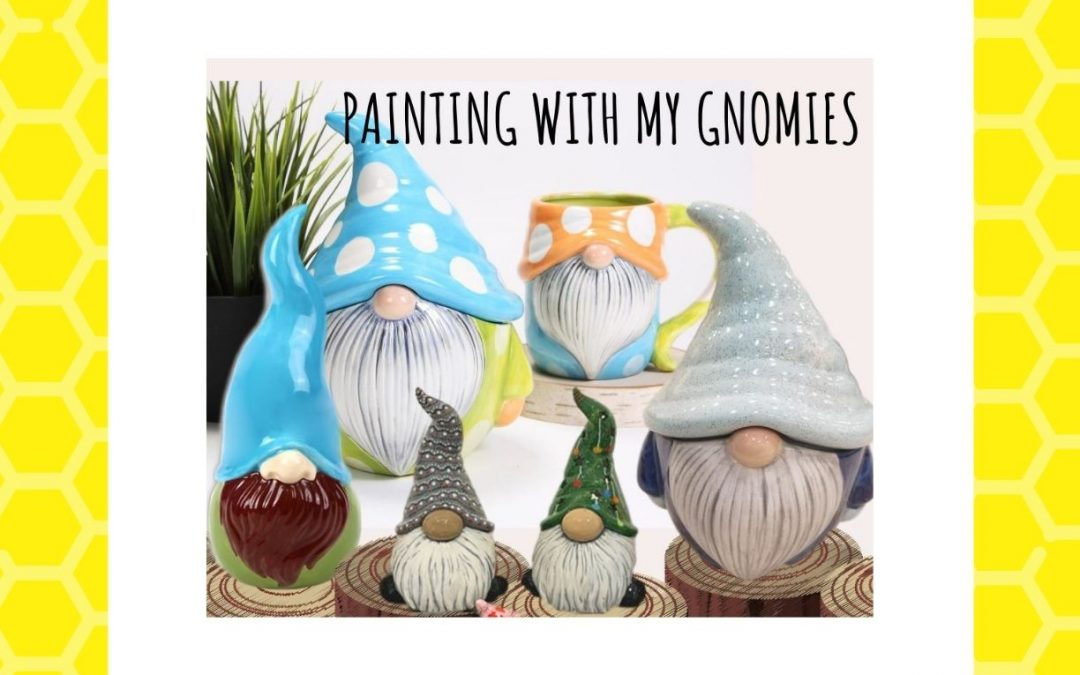 Painting with My Gnomies – Pottery Painting Extravaganza